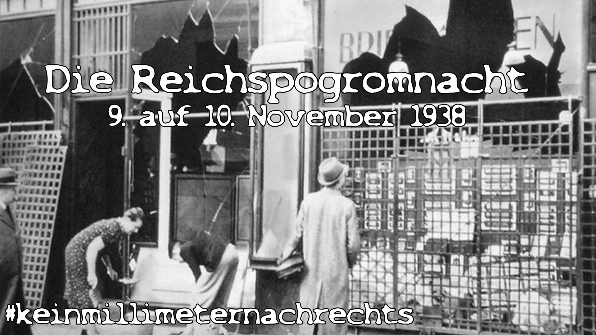 Berlin-Tiergarten am 10. November 1938. Foto: Jean-Pierre Dalbéra, Wikimedia Commons, CC BY 2.0